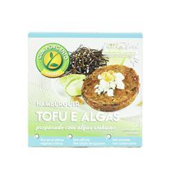 Hambúrguer de tofu e algas