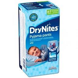 Fralda cueca Drynites para Menino 4 a 7 Anos