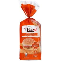 Pão especial hambúrguer