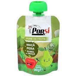 Saqueta de puré de fruta | maçã + pera