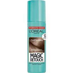 Magic Retouch Spray Retoca Raízes Castanho