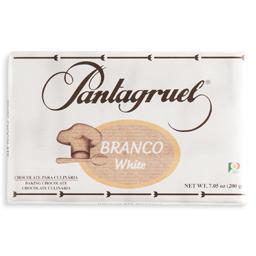Chocolate culinário branco