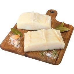 Lombo de bacalhau com lombo higienizada congelada