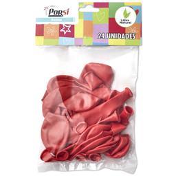 Balões latex vermelho