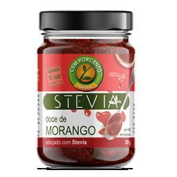 Doce de morango com stevia
