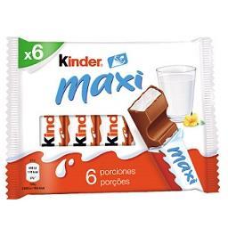 Chocolate maxi 6 barritas