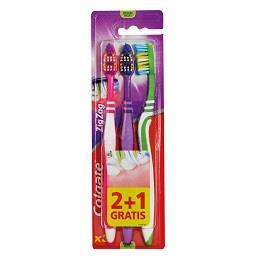 Escova dentífrica zig zag média
