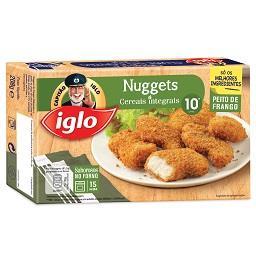10 nuggets de frango com cereais integrais