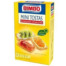 Mini tostas retangulares extra finas - extra crocant...