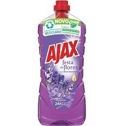 Detergente líquido lava-tudo festa das flores lavand...