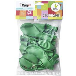 Balões latex verde