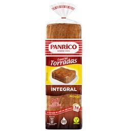Pão de forma integral especial torradas