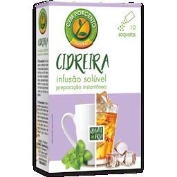 Chá solúvel cidreira