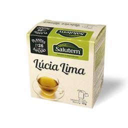 Chá de infusão salutem nº 26 - lúcia lima 10 saqueta...