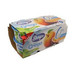 Shoyce soygurt grego bifidus pêssego maracujá 4x120g...