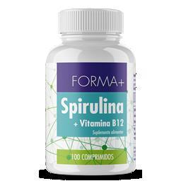 Spirulina - frasco comprimidos