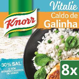 Caldo vitalie de galinha -30% de sal