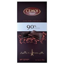 Tablete de chocolate negro