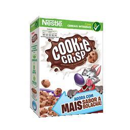 Cereais cookie crisp