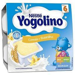 Alimento lácteo cereais e baunilha +6 meses