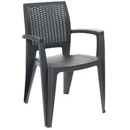 Cadeira Caribe Antracite