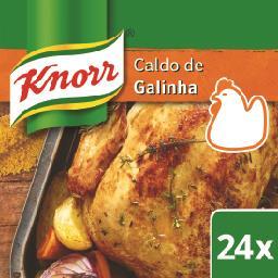 Caldo de galinha 24 cubos