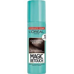 Magic Retouch Spray Retoca Raízes Castanho Escuro