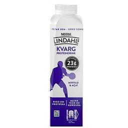 Iogurte líquido proteína mirtilo e açai