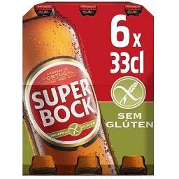 Cerveja branca com álcool