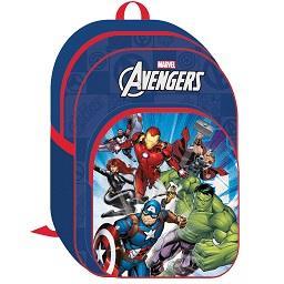 Mochila Grande c/ 2 Fechos Avengers