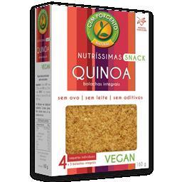 Nutríssimas de quinoa