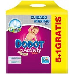 Toalhitas Activity Recarga 5+1(grátis)