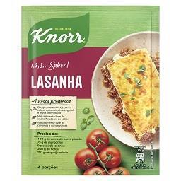 Knorr 1, 2, 3...sabor! - Lasanha