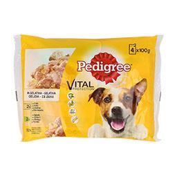 Alimento húmido para cão, galinha e cordeiro