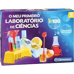 O meu primeiro laboratório de ciências