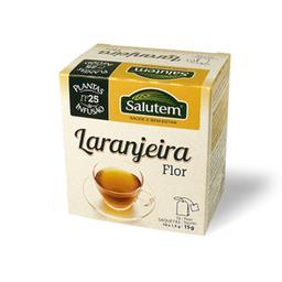 Chá de infusão salutem nº 25 - laranjeira flor 10 sa...