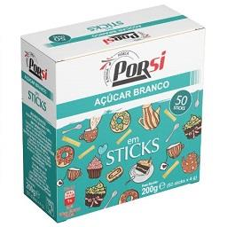 50 sticks açúcar
