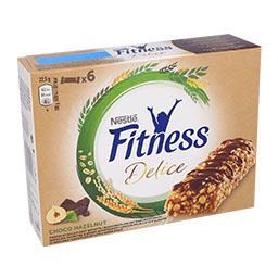 Barras de cereais de trigo integral com chocolate e ...