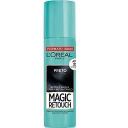 Magic Retouch Spray Retoca Raízes Preto