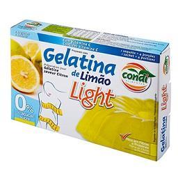 Gelatina Limão Light