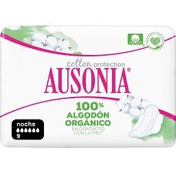 Pensos Higiénicos com Abas Cotton Protection 100% Or...