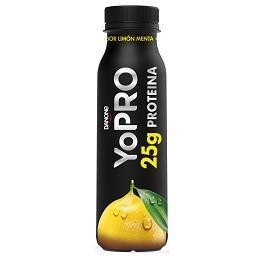 Yopro limão e sabor a menta