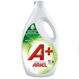 Detergente líquido máquina lavar roupa optimal A+