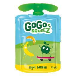Gogosqueez snack banana