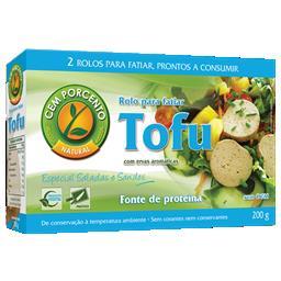 Rolo de tofu com ervas