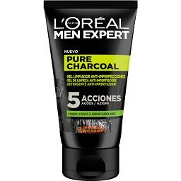 Gel limpeza charcoal