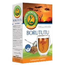 Chá borututu em planta (caixa)