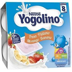 Alimento lácteo sem açucar com sabor a morango/banan...