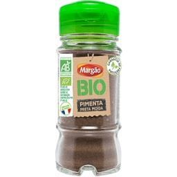 Pimenta preta moída margão bio 43g