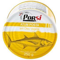 Atum posta em óleo vegetal